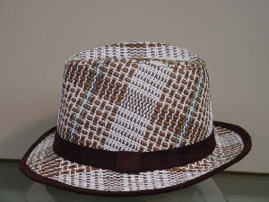 Grace Plaid Fedora- Sale Item