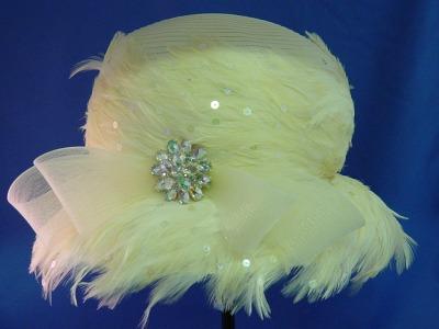 Feathered Ribbon- Sale Item