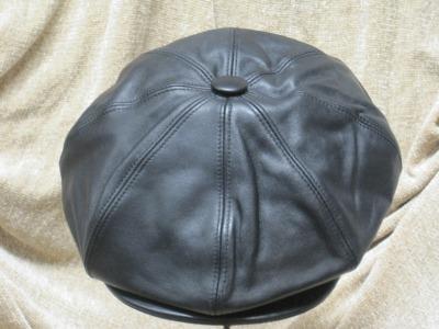 Bailey 8/4 Leather Newsboy