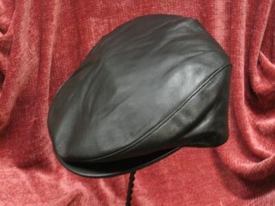 Dobbs Lambskin Leather Ivy cap